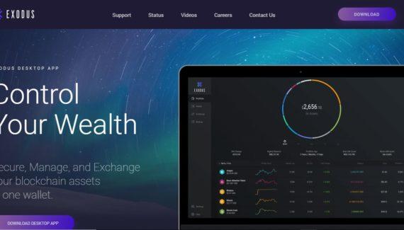blockchain wallet Exodus