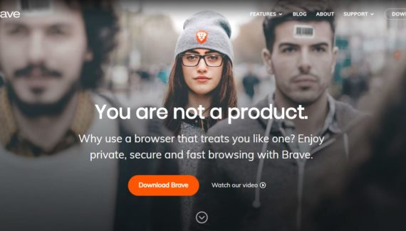 brave browser blockchain