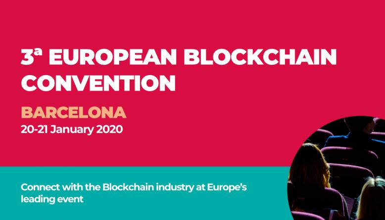 European Blockchain Convention Barcelona 2020