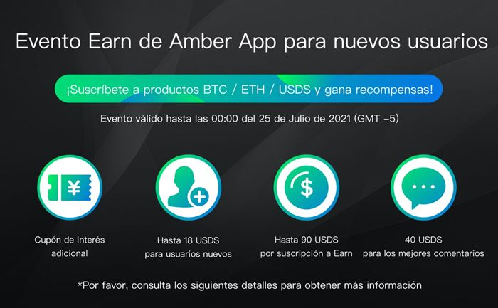 evento amber blockchain